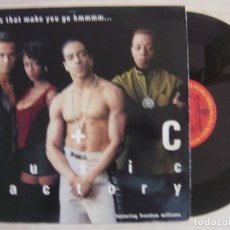 Discos de vinilo: C + C MUSIC FACTORY FEATURING FREEDOM WILLIAMS - THINGS THAT MAKE YOU GO HMMMM... - MAXI-SINGLE 1990. Lote 136185082