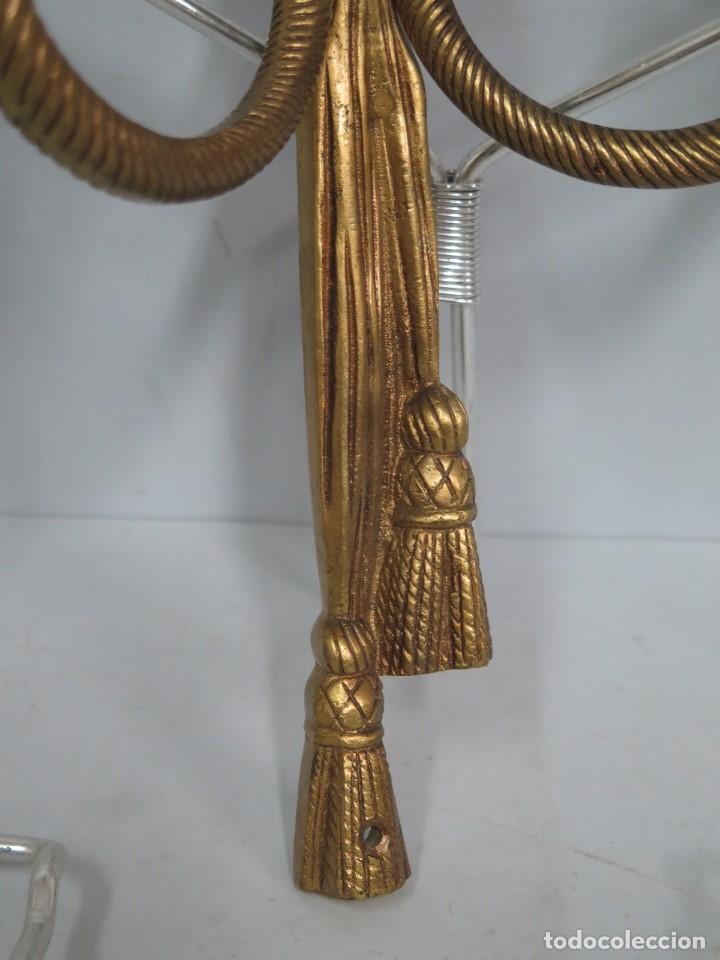 Antigüedades: APLIQUE DE BRONCE DORADO. ESTILO LUIS XVI - Foto 2 - 136205202