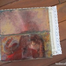 Antigüedades: PAREJA DE AZULEJOS RAMOS REJANO. Lote 136220818
