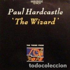 Discos de vinilo: PAUL HARDCASTLE ?– THE WIZARD - MAXI-SINGLE EUROPE 1986. Lote 136227266