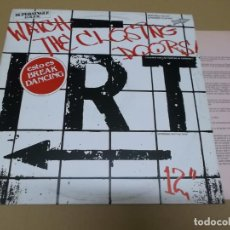 Discos de vinilo: INTERBORO RHYTHM TEAM (I.R.T.) (MX) WATCH THE CLOSING DOORS +2 TRACKS AÑO 1983 – PROMOCIONAL + HOJA . Lote 136290738