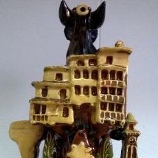 Antigüedades: BOTIJO DE CUENCA.BUEN ESTADO MEDIDA 35 CM. Lote 136293102