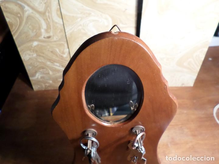 Antigüedades: ESPEJO CUELGA LLAVES - Foto 6 - 136305558