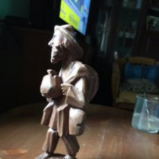 Antigüedades: TALLA EN MADERA , ANTIGUA. Lote 136346569