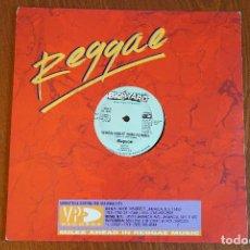 Discos de vinilo: RAYVON WHEN NIGHT COMES / MUNCHIES OF LOVE MAXI 12 PULGADAS DANCEHALL REGGAE. Lote 136352006