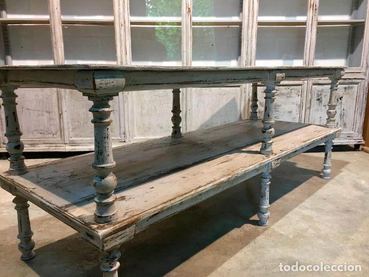 Antigua gran mesa de centro. antigua mesa de co - Verkauft durch ...