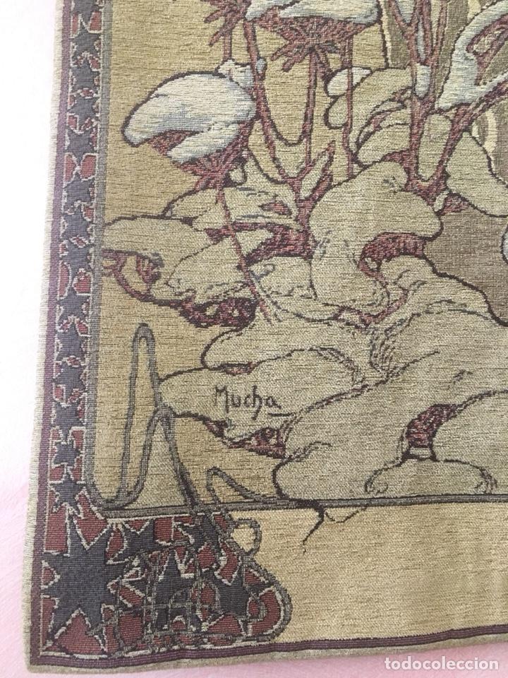 Antigüedades: Tapiz-modernista-Art-Nouveau - Foto 3 - 106682296
