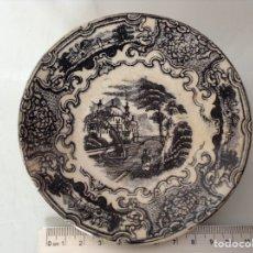Antigüedades: PLATO LA CARTUJA SERIE VISTAS 12CM.. Lote 136365893