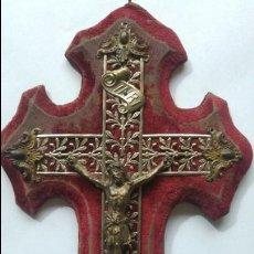 Antigüedades: ANTIGUA BENDITERA 15 X 29 CM. Lote 136371446