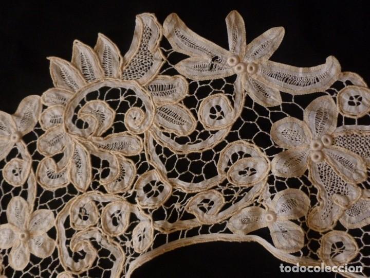 Antigüedades: ANTIGUA CAPELINA DE ENCAJE - S.XIX - Foto 3 - 136393518