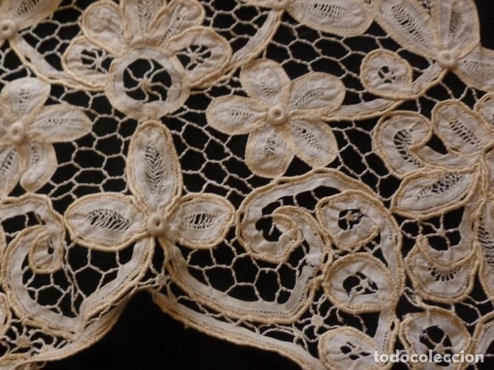 Antigüedades: ANTIGUA CAPELINA DE ENCAJE - S.XIX - Foto 5 - 136393518
