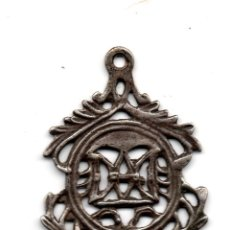 Antigüedades: SANTO NOMBRE DE MARIA,MEDALLA EN PLATA SIGLO XVIII. Lote 136395090