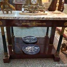 Antigüedades: CONSOLA IMPERIO. Lote 136398674