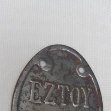 Antigüedades: CHAPA - EZTOY - LOGROÑO - CAR116. Lote 136418462