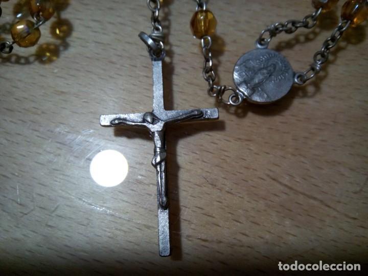 Antigüedades: * ROSARIO CUENTAS DE CRISTAL. ( RF:R63/*) - Foto 2 - 136419454