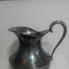 Antigüedades: JARRA DE ALPACA 15X15. CTMS. Lote 136423562