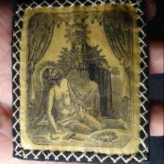 Antigüedades: ANTIGUO ESCAPULARIO NUESTRA SEÑORA DE LOS DOLORES. Lote 136430718