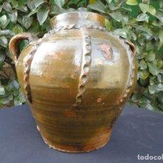 Antigüedades: ALFARERÍA ARAGONESA: OLLA DE NOVIA DE NAVAL. Lote 136451774