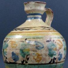 Antigüedades: ALCUZA EN CERÁMICA DE PUENTE DEL ARZOBISPO SIGLO XIX. Lote 136453626