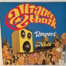 Discos de vinilo: ALLIANCE ETHNIK - RESPECT - 1995. Lote 136470822