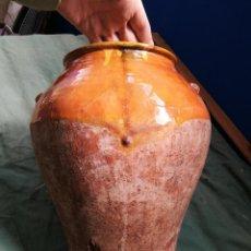 Antigüedades: ORZA TINAJA VASIJA TUPI ...ECT CERAMICA TERRACOTA CATALANA. Lote 136506346