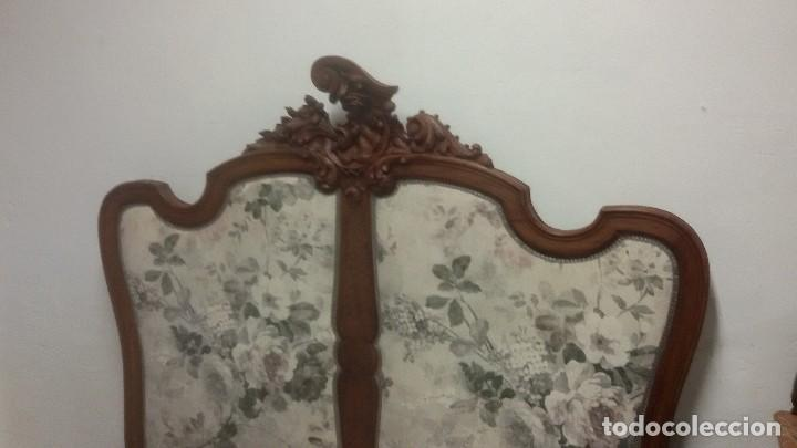 Antigüedades: Juego de cama y mesilla - Foto 5 - 136511630
