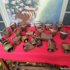 Antigüedades: LOTE DE 27 CENCERROS. Lote 136516945