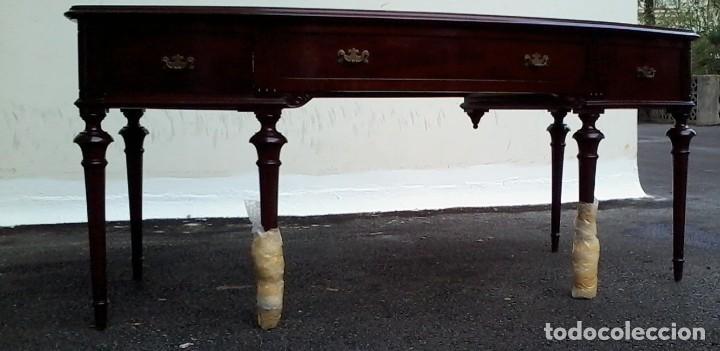 Antigüedades: Mesa de despacho clásica. - Foto 4 - 136520030