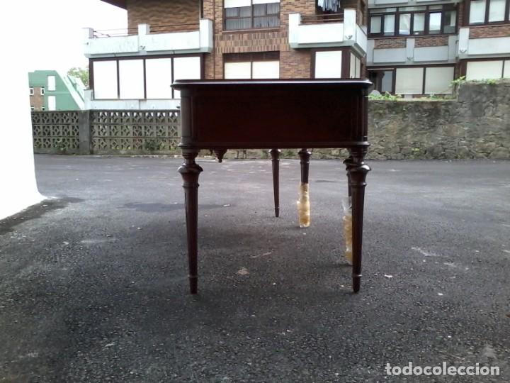 Antigüedades: Mesa de despacho clásica. - Foto 6 - 136520030