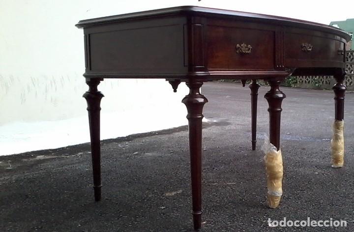 Antigüedades: Mesa de despacho clásica. - Foto 7 - 136520030