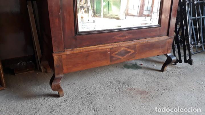 Antigüedades: Armario antiguo con espejo estilo modernista. Armario ropero estilo rústico armario estilo art decó. - Foto 11 - 136523990