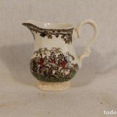 Antigüedades: JARRITA - LECHERA DE PORCELANA MYOTIS COUNTRY LIFE - ENGLAND - CAZA DEL ZORRO. Lote 136529142