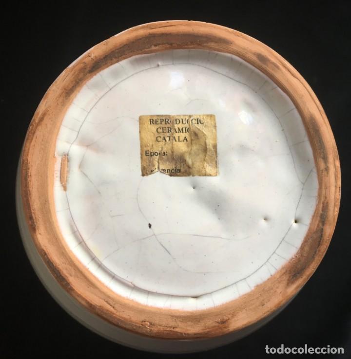 Antigüedades: PRECIOSA JARRA DE CERÁMICA CATALANA - Foto 8 - 136559834