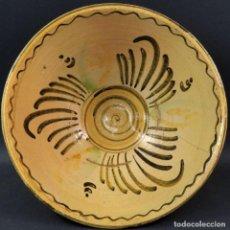 Antigüedades: FUENTE HONDA EN CERÁMICA DE PUENTE DEL ARZOBISPO FINALES DEL SIGLO XIX. Lote 136566398