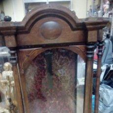 Antigüedades: GIGANTE CAPILLA DE MADERA DEL SIGLO XIX. Lote 136570694
