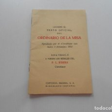Antiquitäten - ordinario de misa 1965 - 136604854