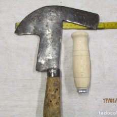 Antigüedades: FORJA HERRERO FRAGUA - ANTIGUA Y RARA FOUZA PODON MACHETE, 520GR + INFO Y FOTOS.. Lote 136621640
