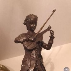 Antigüedades: ESCULTURA DE BRONCE. Lote 136637490