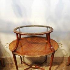 Antigüedades: MESA AUXILIAR SIGLO XIX. Lote 136651662