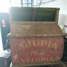 Antigüedades: AVENTADORA AJURIA N°3. Lote 136654156