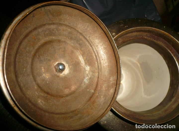 Antigüedades: DISPENSADOR DE BEBIDAS CALIENTES JAMAT - Foto 14 - 103859595