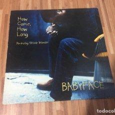 Discos de vinilo: BABYFACE FEATURING STEVIE WONDER ?– HOW COME, HOW LONG. Lote 136676810