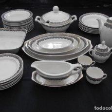 Antigüedades: BONITA VAJILLA Y JUEGO DE CAFE // LEER DESCRIPCION. Lote 136740262
