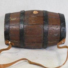 Antigüedades: BARRIL - TONEL PEQUEÑO DE ROBLE . Lote 136772726