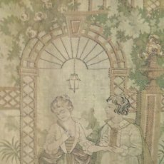 Antigüedades: ANTIGUO TAPIZ DE GRAN TAMAÑO.. Lote 136775950