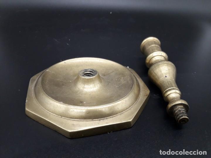 Antigüedades: Candelero torneado - Foto 5 - 136814562