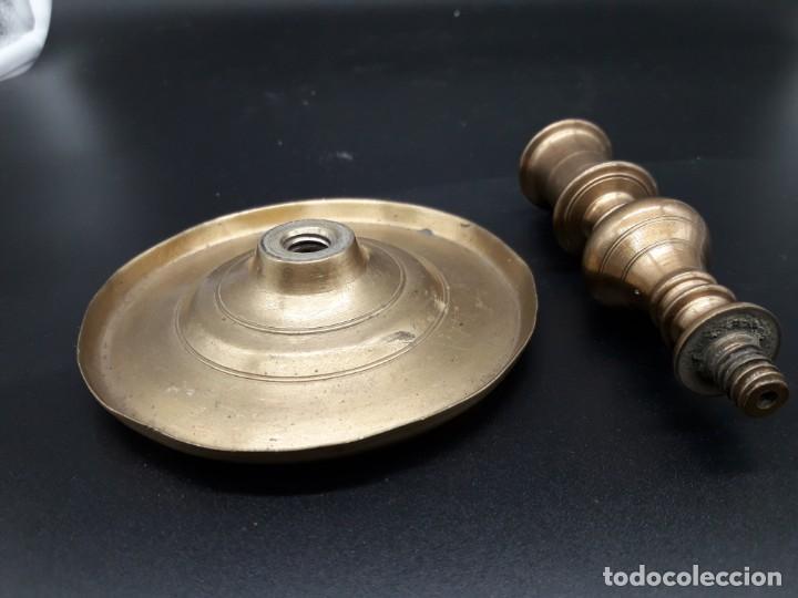 Antigüedades: Candelero barroco - Foto 5 - 136816454