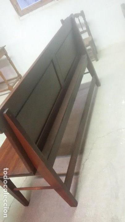 Antigüedades: Banco de madera - Foto 2 - 136817250
