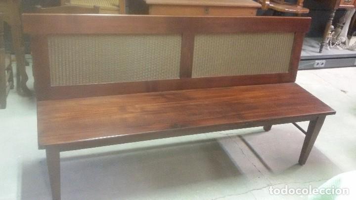 Antigüedades: Banco de madera - Foto 4 - 136817250