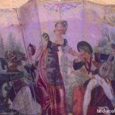 Antigüedades: ABANICO DE FILIGRANA DE PLATA.. Lote 136862038